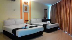 1 多间卧室、办公桌、免费 WiFi、床单