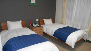 Down duvet, in-room safe, blackout curtains, free WiFi