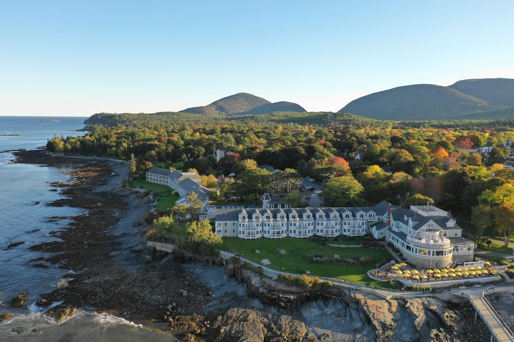 Aerial View, Bar Harbor Inn