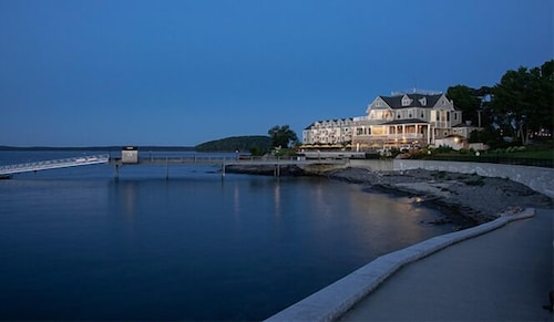 Exterior, Bar Harbor Inn