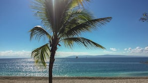 Private beach, scuba diving, beach volleyball, beach bar