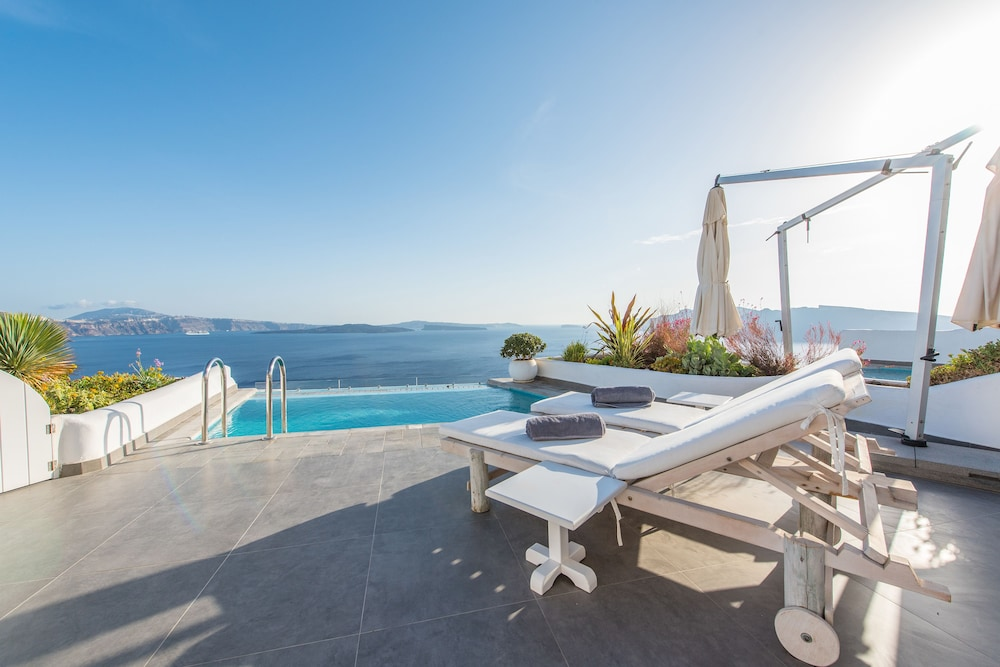 Terrace/Patio, Santorini Secret Suites & Spa