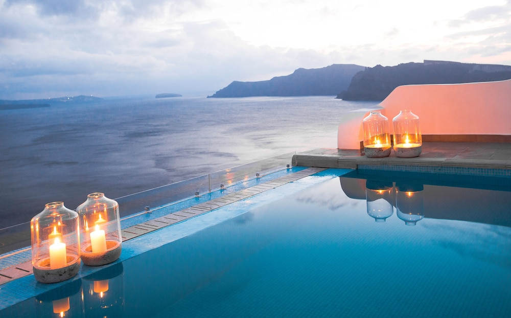 Outdoor Pool, Santorini Secret Suites & Spa
