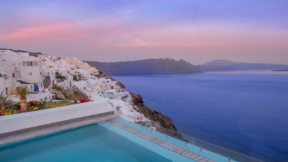 Balcony View, Santorini Secret Suites & Spa