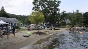 Private beach, kayaking, rowing, fishing
