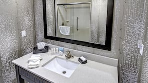In-room safe, individually furnished, laptop workspace, blackout drapes