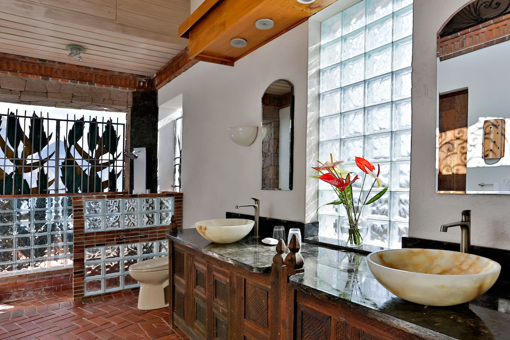 Bathroom,  Caille Blanc Villa & Hotel - Adults Only