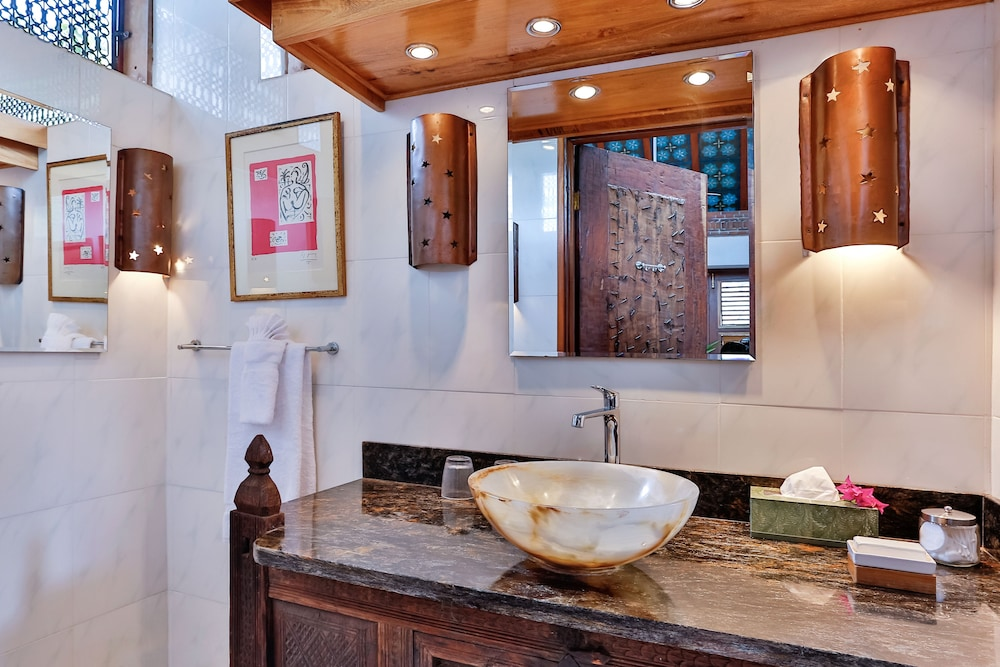 Bathroom Sink,  Caille Blanc Villa & Hotel - Adults Only