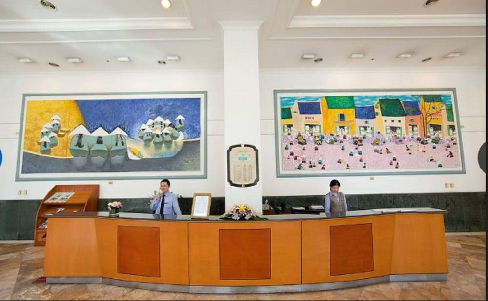 Reception, Daeha Hanoi Serviced Apartments