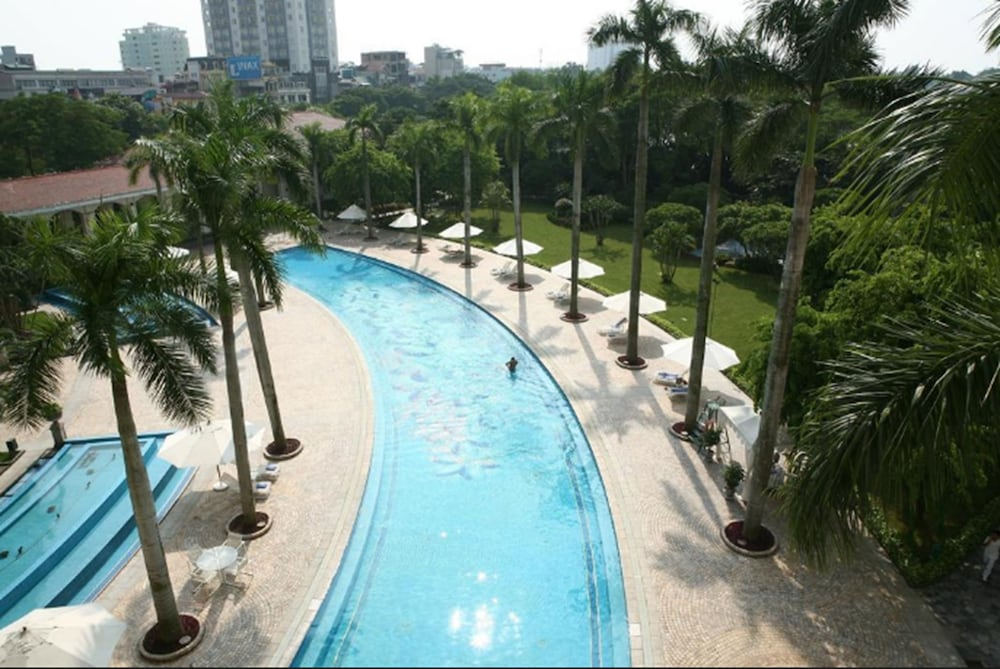 Indoor/Outdoor Pool, Daeha Hanoi Serviced Apartments