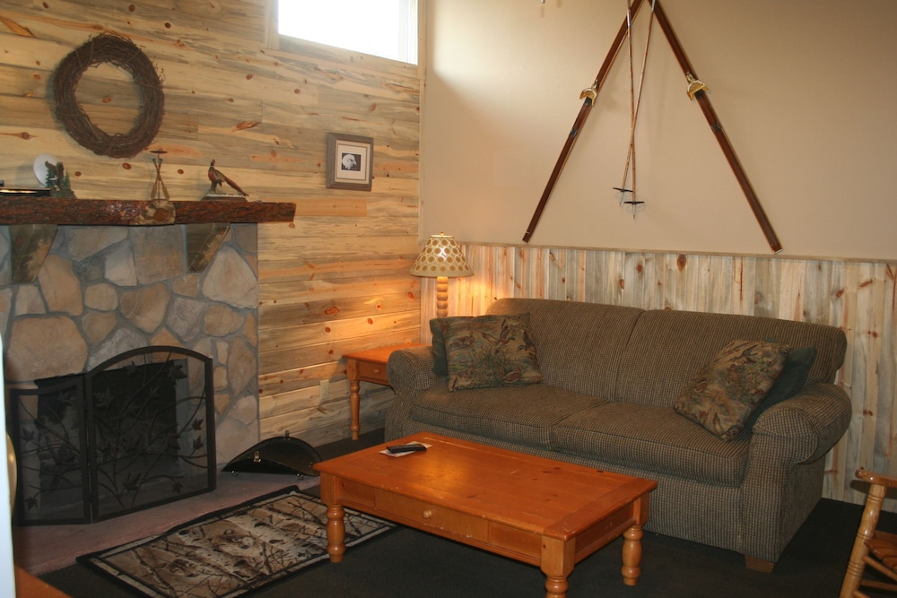 Living Area, Misty Mountain Lodge