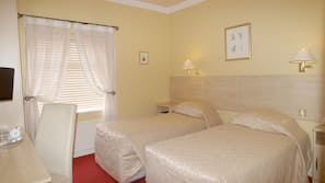 1 bedroom, desk, iron/ironing board, rollaway beds