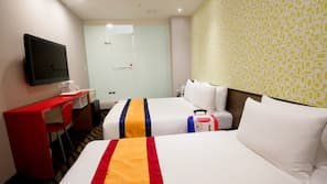 1 間臥室、保險箱、免費嬰兒床、免費 Wi-Fi