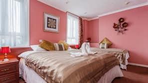 Egyptian cotton sheets, premium bedding, free minibar