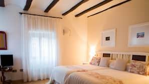 5 slaapkamers, Italiaanse Frette-lakens, luxe beddengoed