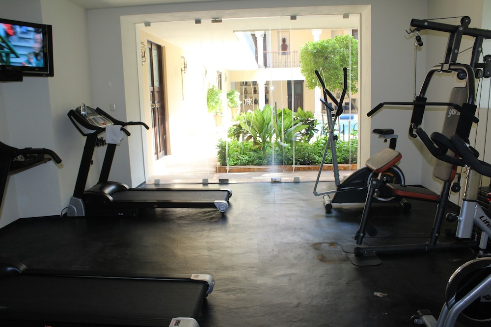 Gym, Mansion Merida Hotel - Restaurant