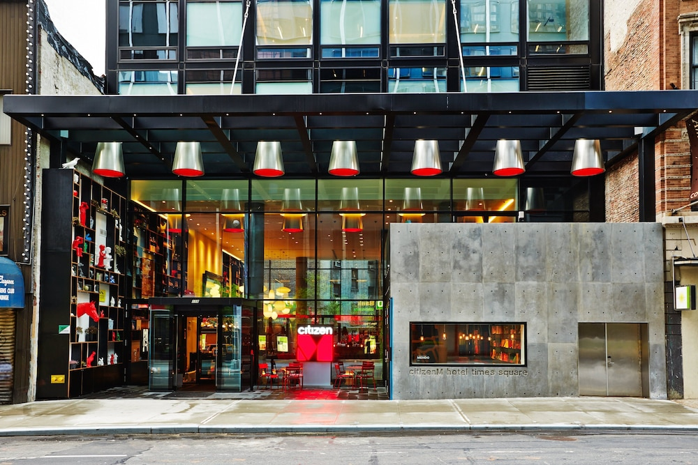 Exterior, citizenM New York Times Square