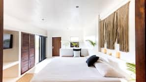 Caja fuerte, decoración individual, wifi gratis y ropa de cama