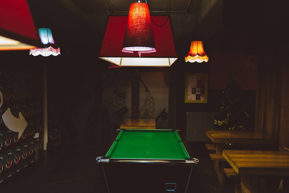 Billiards, Clink78 Hostel