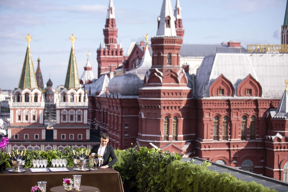 Terrace/Patio, Four Seasons Hotel Moscow