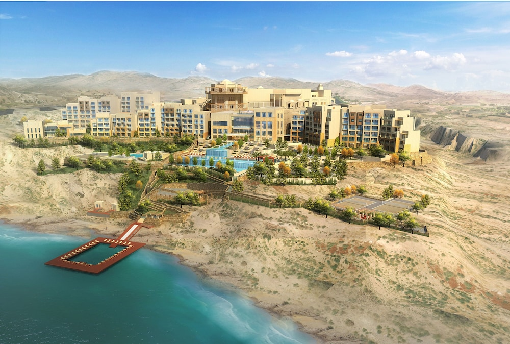 Aerial View, Hilton Dead Sea Resort & Spa