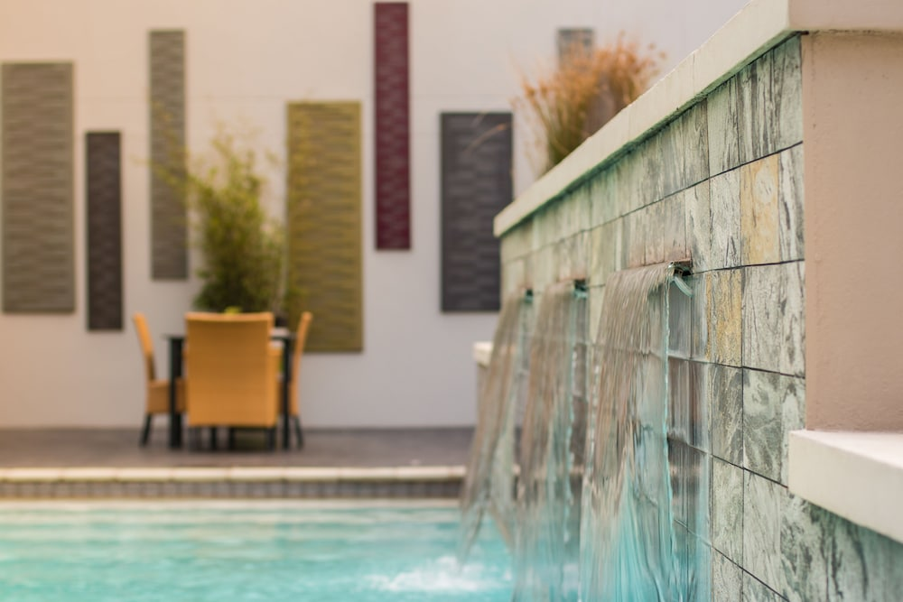 Pool Waterfall, City Lodge Hotel at OR Tambo International Airport