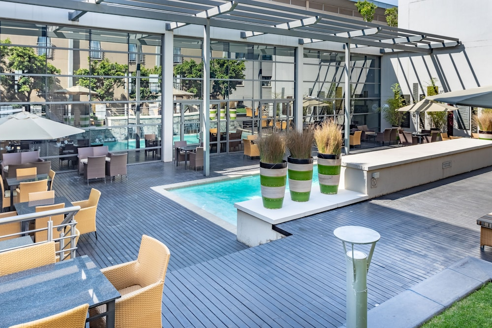 Outdoor Pool, City Lodge Hotel at OR Tambo International Airport