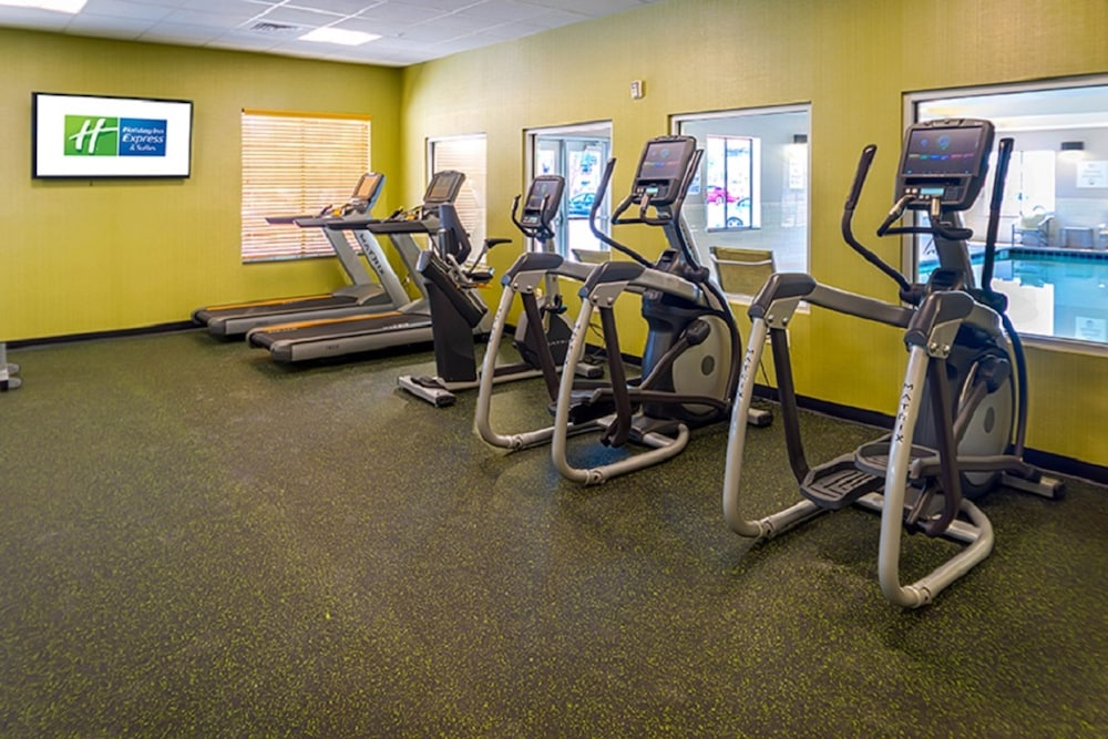 Fitness Facility, Holiday Inn Express & Suites Salt Lake City South - Murray, an IHG Hotel
