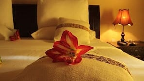 1 dormitorio y sábanas italianas Frette