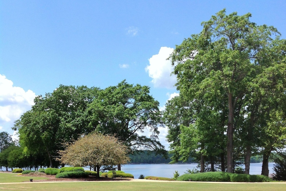 View from Property, Clemson University's James F. Martin Inn