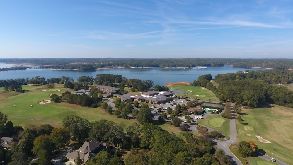 Aerial View, Clemson University's James F. Martin Inn