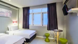 In-room safe, individually decorated, blackout curtains, free WiFi