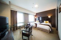 Premium Floor, Deluxe Twin Room with Extra bed (Non-Smoking)