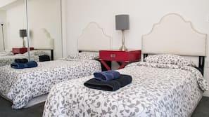 Frette Italian sheets, premium bedding, memory-foam beds