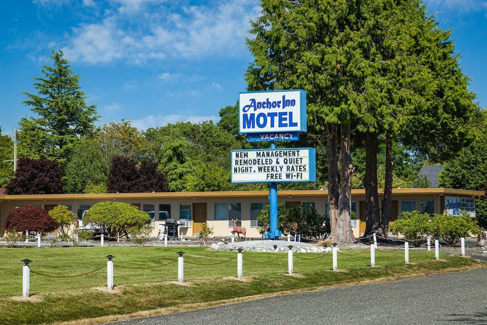 Exterior detail, Anchor Inn Motel