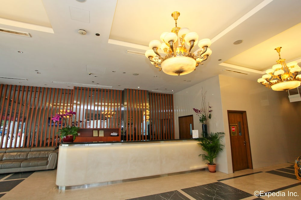 Reception, Orchid Hotel (SG Clean)