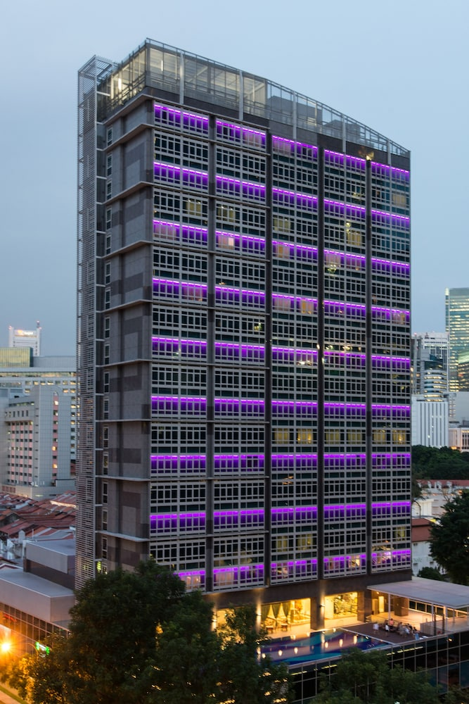 Front of Property - Evening/Night, Orchid Hotel (SG Clean)