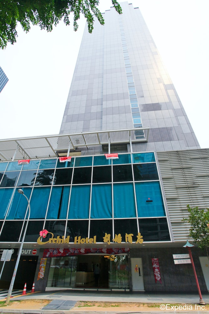 Front of Property, Orchid Hotel (SG Clean)