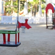 Außen-Kinderspielplatz