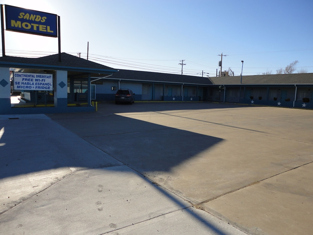 Front of Property, Sands Motel