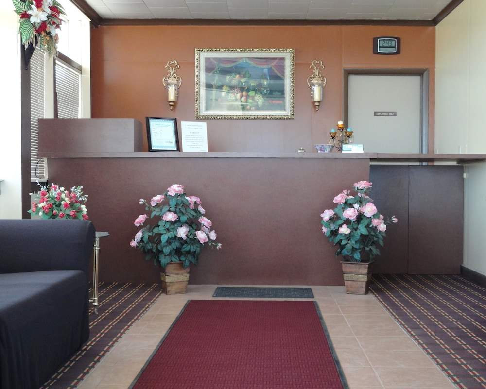 Reception, Sands Motel