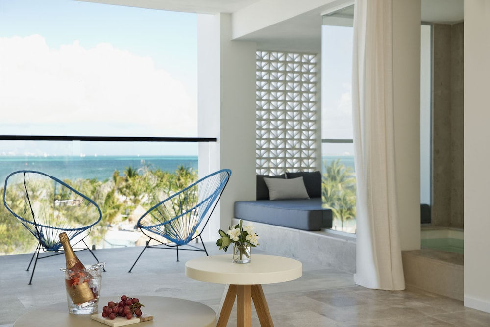View from Room, Finest Playa Mujeres by The Excellence Collection  All inclusive