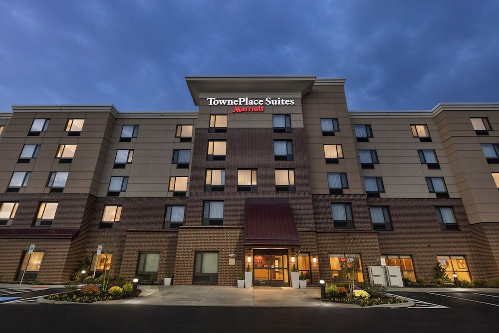 Front of Property - Evening/Night, Towneplace Suites by Marriott Harrisburg West/Mechanicsburg