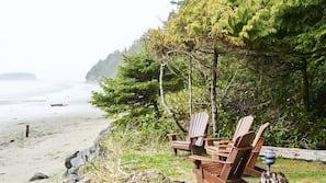 Plage, navette gratuite vers la plage, serviettes de plage
