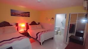 Pillowtop-bedden, een minibar, een kluis op de kamer, gratis wifi