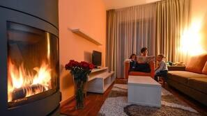 1 Schlafzimmer, Minibar, Zimmersafe, Verdunkelungsvorhänge