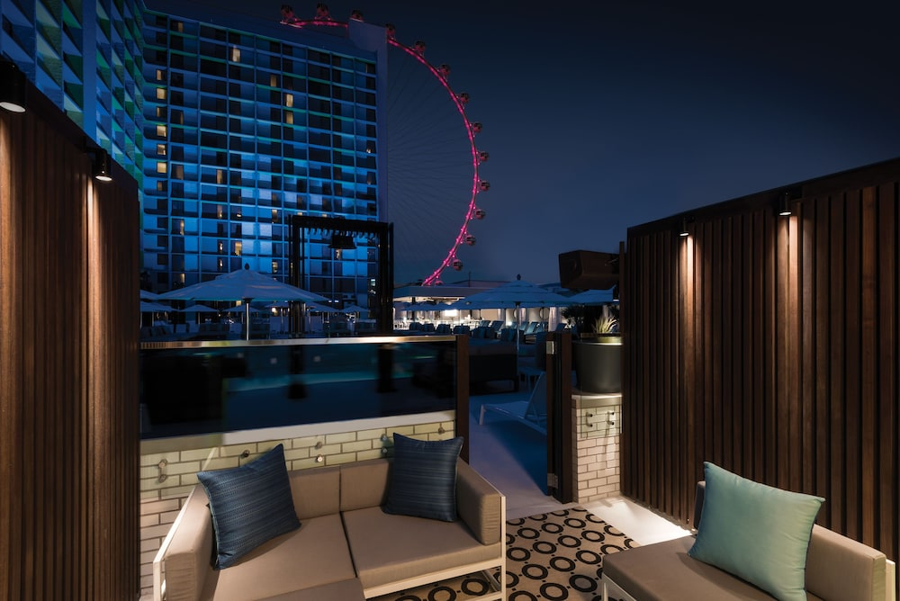 Terrace/Patio, The LINQ Hotel + Experience