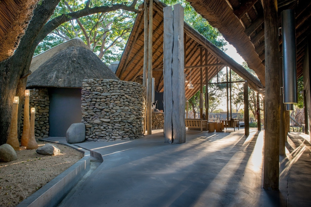 Interior Entrance, Simbavati River Lodge