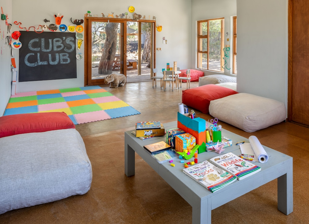 Children's Play Area - Indoor, Simbavati River Lodge