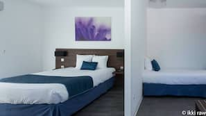 Premium bedding, Select Comfort beds, in-room safe, desk